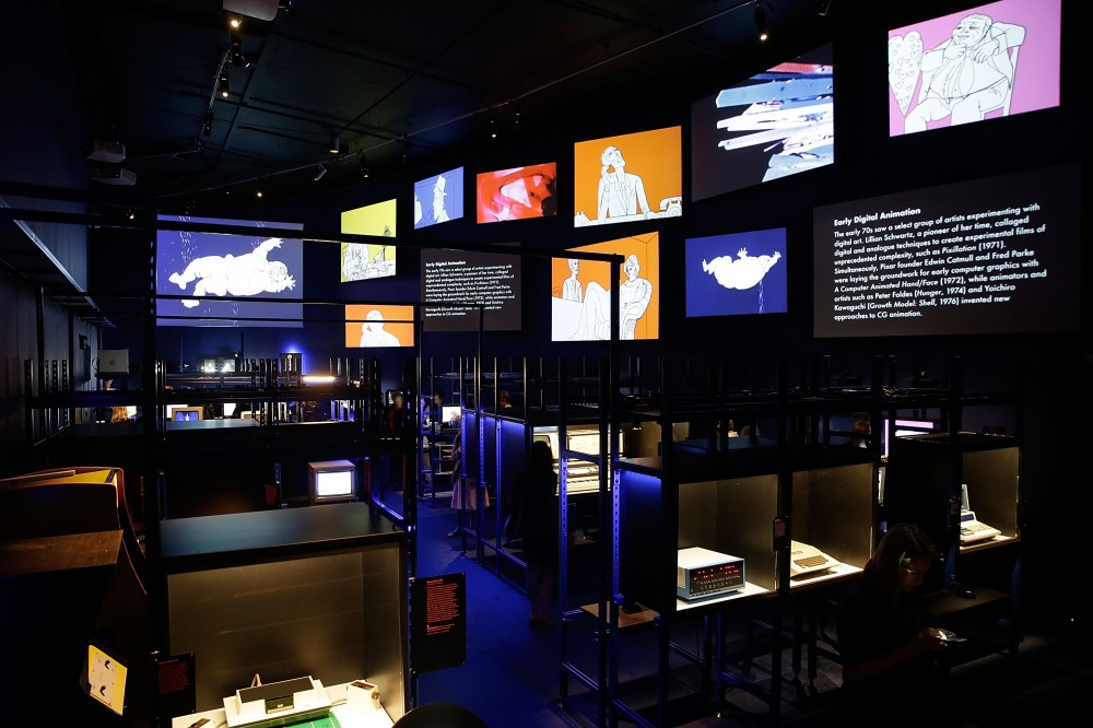 Digital Revolution Installation At The Barbican Centre
